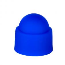 Колпачок на болт, гайку М8 под ключ S13  синий
