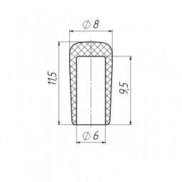 Колпачок на пруток 6 мм