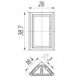 Уголок мебельный двойной