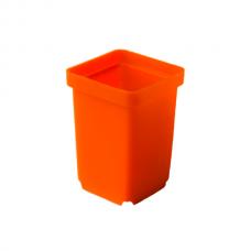 Горшки для кактусов 5x5x7 см оранжевые