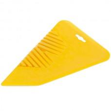 Шпатель для обоев 280 мм желтое