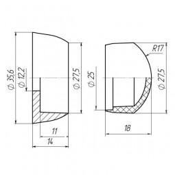 Заглушка для площадок М12