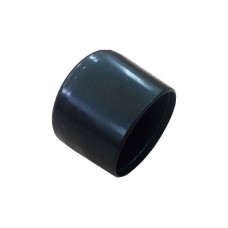 Наружная заглушка пластиковая для труб сечением 27 мм черная