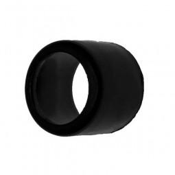 Заглушка втулка 27*22 мм черная