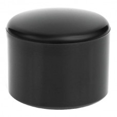 Наружная заглушка пластиковая для труб сечением 32 мм черная