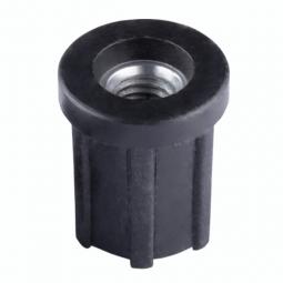 Заглушка круглая D25 с резьбой М8 1,0-1,2 мм
