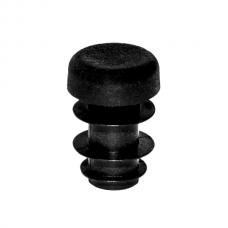Заглушка круглая диаметром 10 мм черная