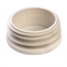 Заглушка круглая 42 мм ДУ32 белая