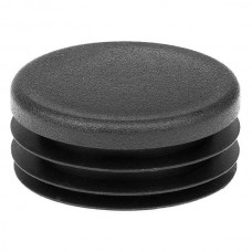Заглушка круглая диаметром 45 мм черная