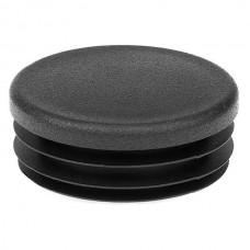 Заглушка круглая диаметром 50 мм черная