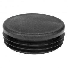 Заглушка круглая диаметром 57 мм черная