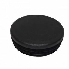 Заглушка круглая ДУ50 черная