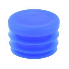 Заглушка круглая 26,8 мм ДУ20 синяя