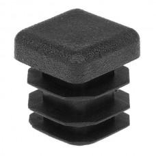 Заглушка для квадратной трубы 16*16 черная
